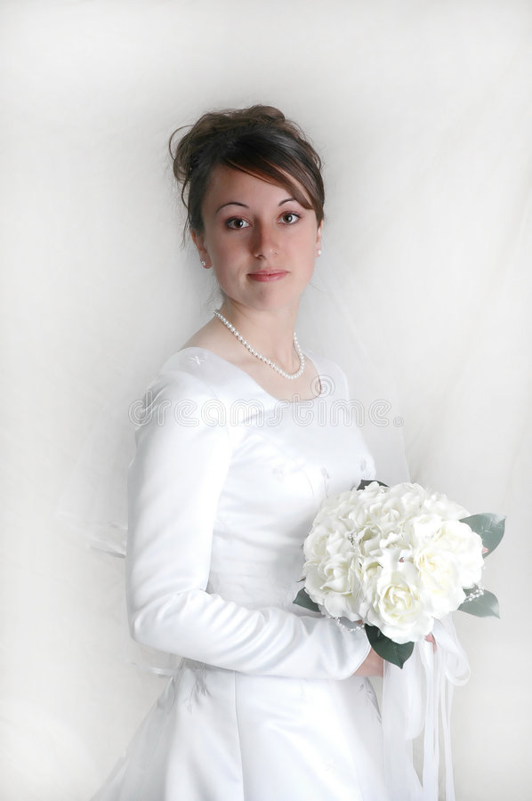 Download Bride stock photo. Image of grace, cute, holding, finess - 1273714