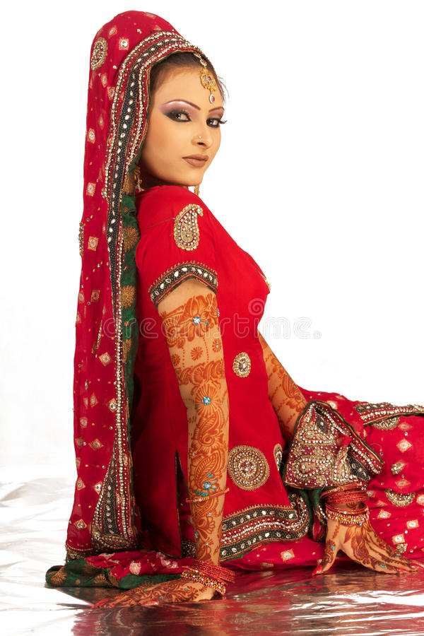 Download Bride stock photo. Image of beautiful, eastern, bollywood - 15253474