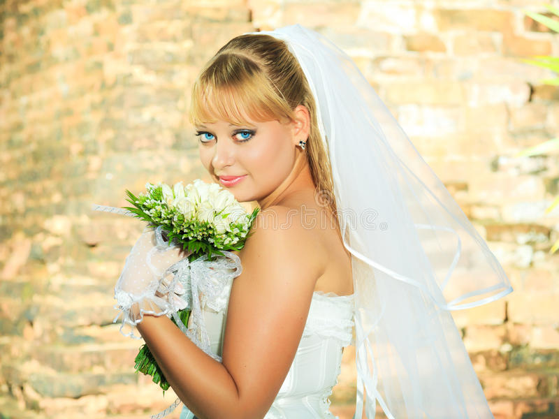Download Bride stock photo. Image of beauty, bride, cute, outdoor - 16617000
