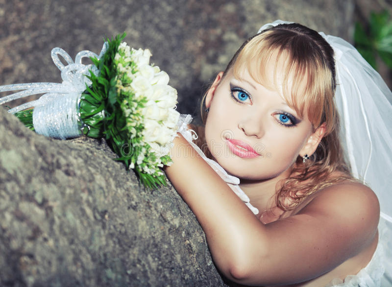Download Bride stock photo. Image of flowers, holiday, wedding - 16617056