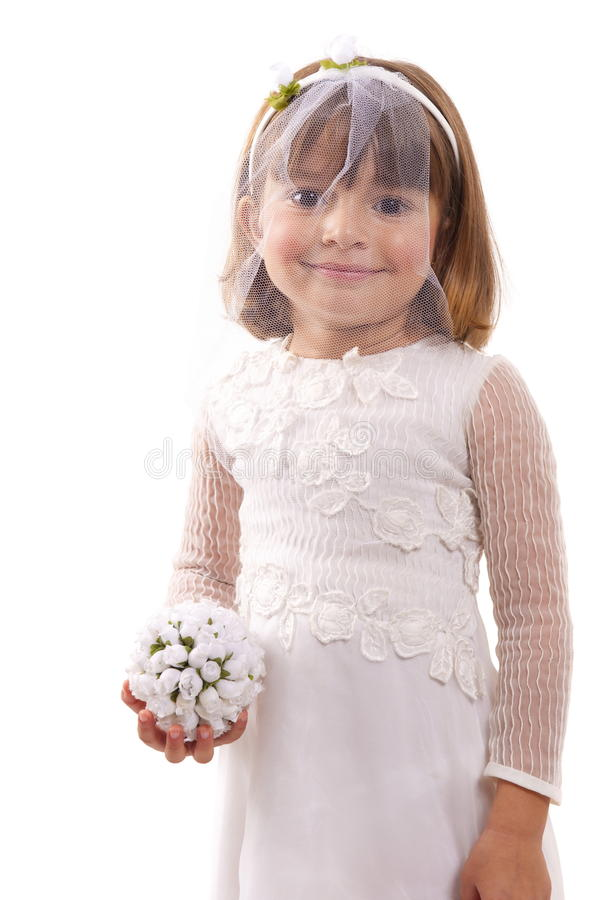 Download Bride stock image. Image of baby, dress, small, expression - 18509533