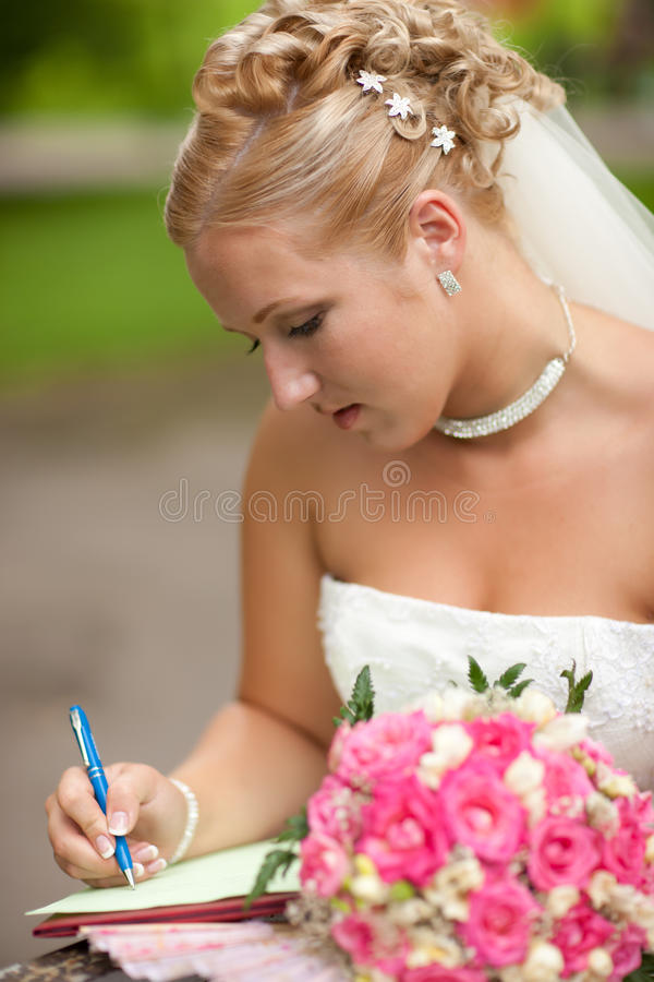 Download Bride stock image. Image of color, caucasian, beginning - 19301259