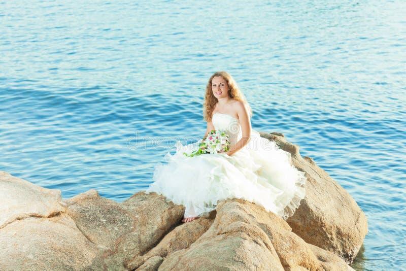 Download Bride stock image. Image of smiling, event, wedding, ocean - 21220367