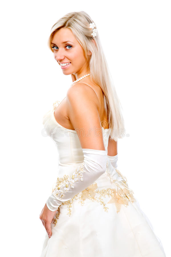 Download Bride stock image. Image of cute, hairstyle, hair, flower - 24587803