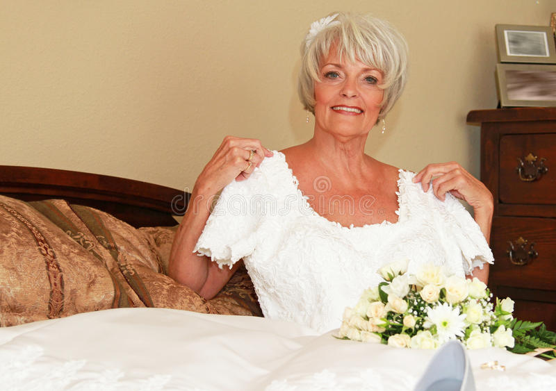 Download Bride stock photo. Image of wrinkle, gray, gown, happy - 24832884