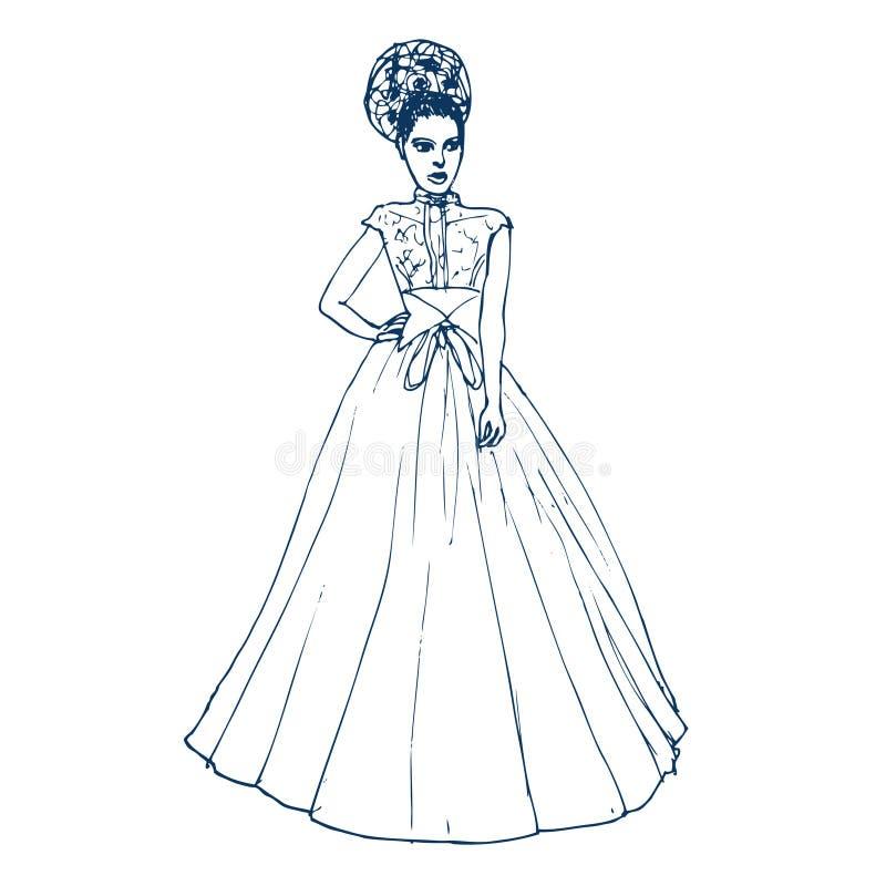 Download Bride stock vector. Image of graphic, modern, bride, illustration - 25199834