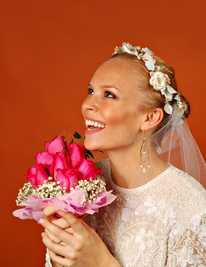 Download Bride stock photo. Image of commitment, tying, bunch, spouse - 2624284