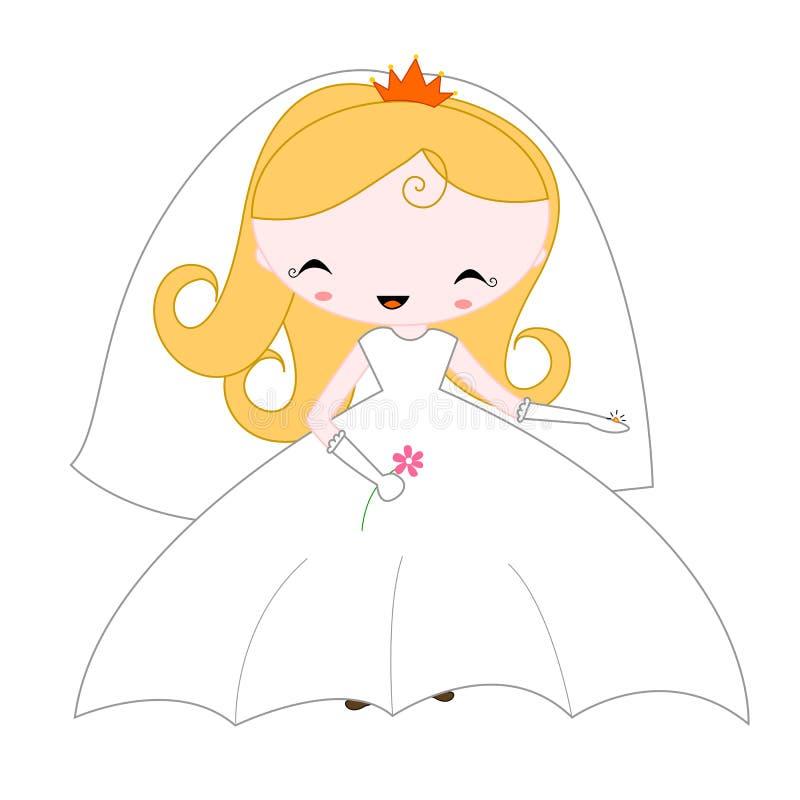 Bride vector illustration