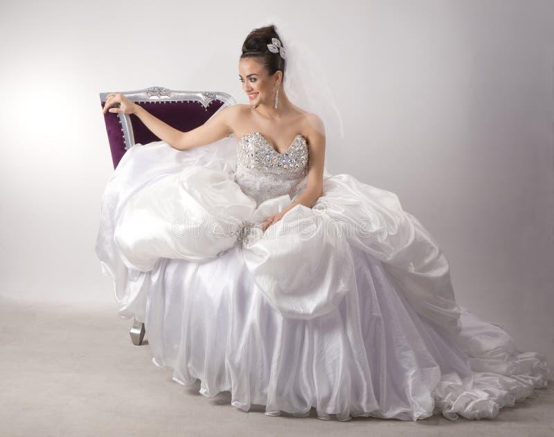 Bride. The White fund come photo stock photos