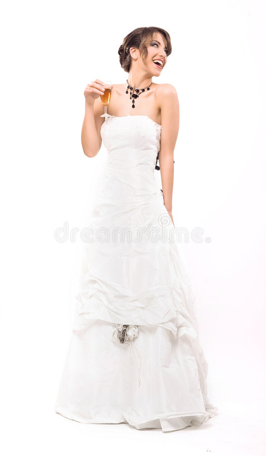 Download Bride stock image. Image of couple, wineglass, toast, ceremony - 9093591
