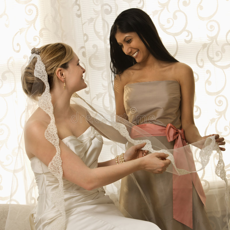 Free Bride And Bridesmaid Stock Photo - 2543010