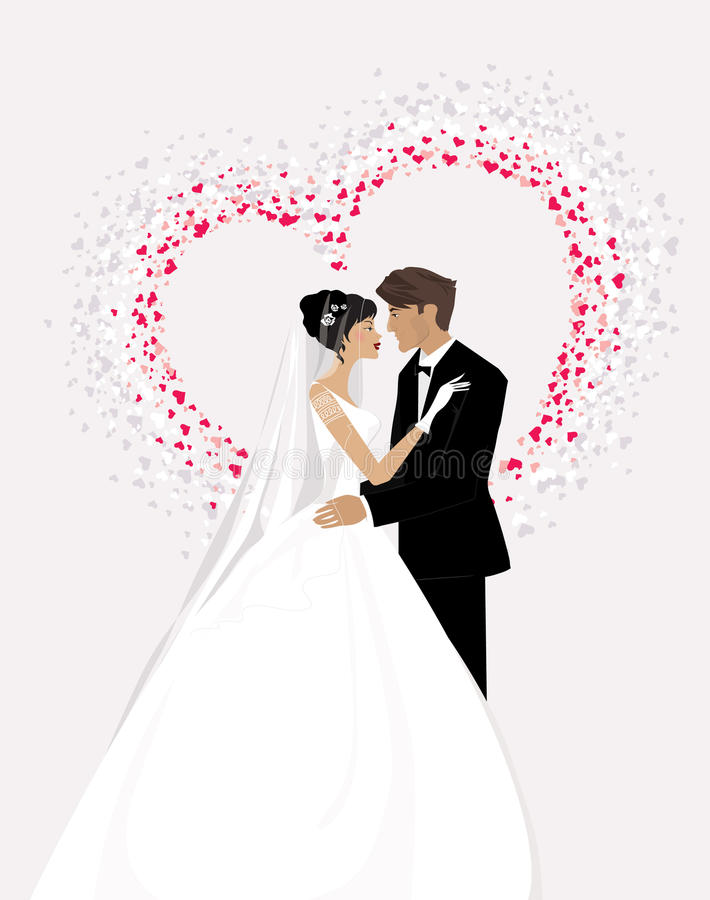 Free Bride And Groom Royalty Free Stock Photos - 12616238