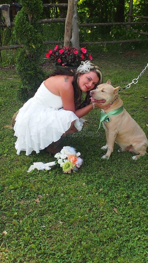 Bride & Bestman stock image