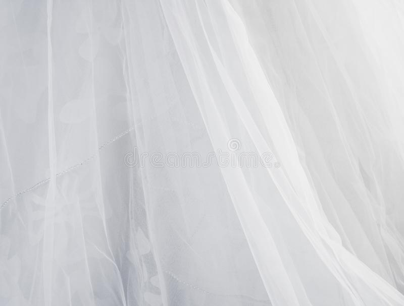 Bride dress texture royalty free stock photography