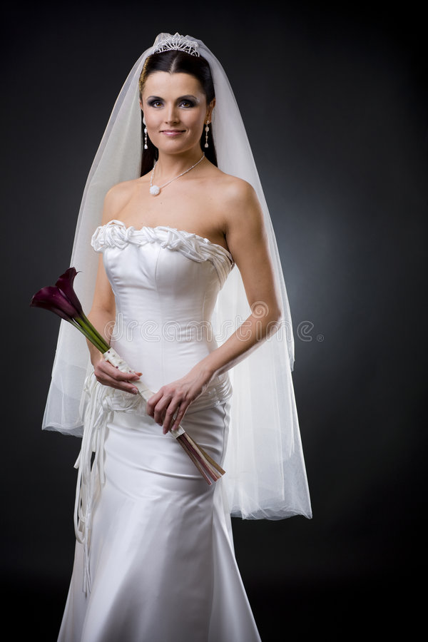 bride dress wedding στοκ φωτογραφία