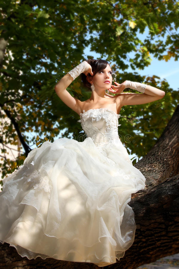 Download Bride In Flowers Royalty Free Stock Photo - Image: 17185745