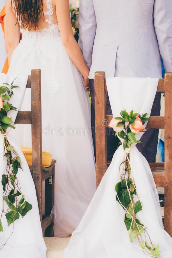 Bride, And, Groom stock photography