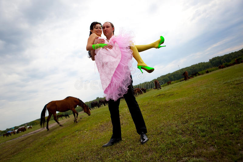 Download Bride and groom stock photo. Image of adult, romance - 13845762