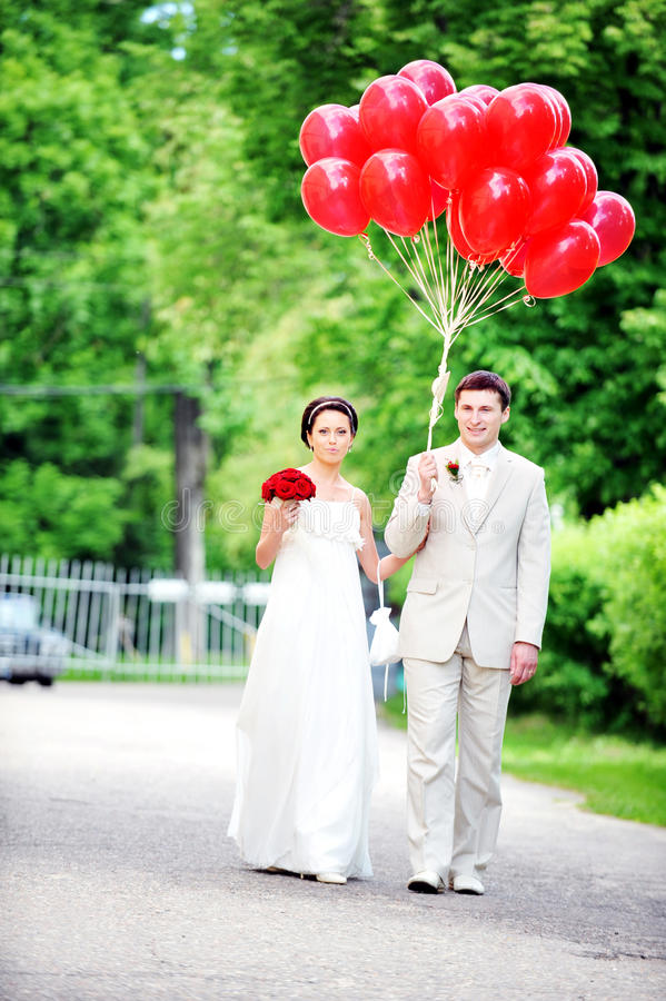 Download Bride and  groom stock image. Image of love, clothing - 15640037