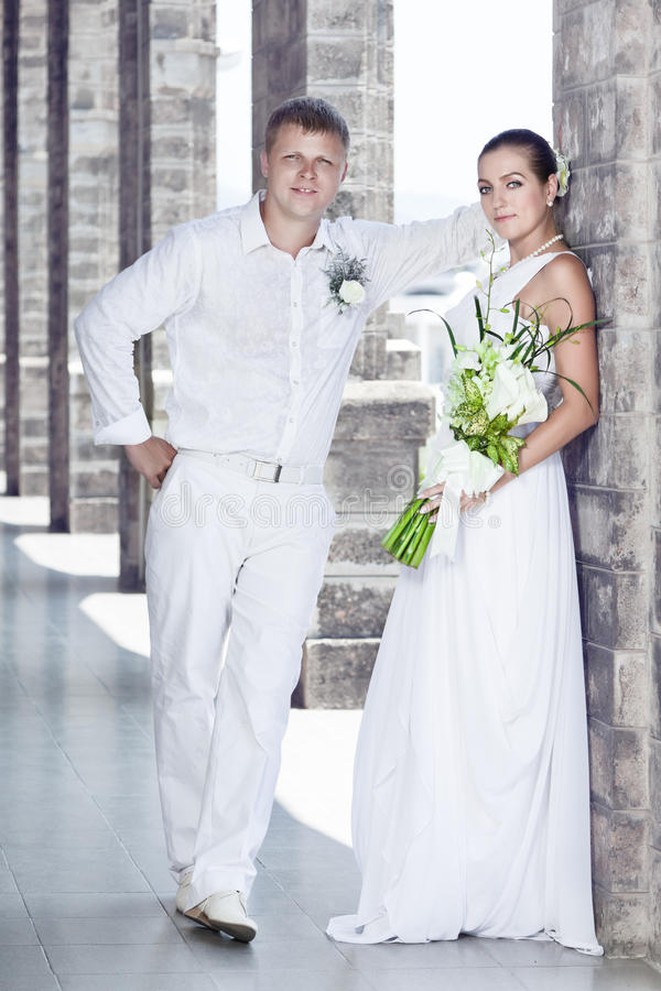 Download Bride and groom stock image. Image of beauty, date, model - 19303073