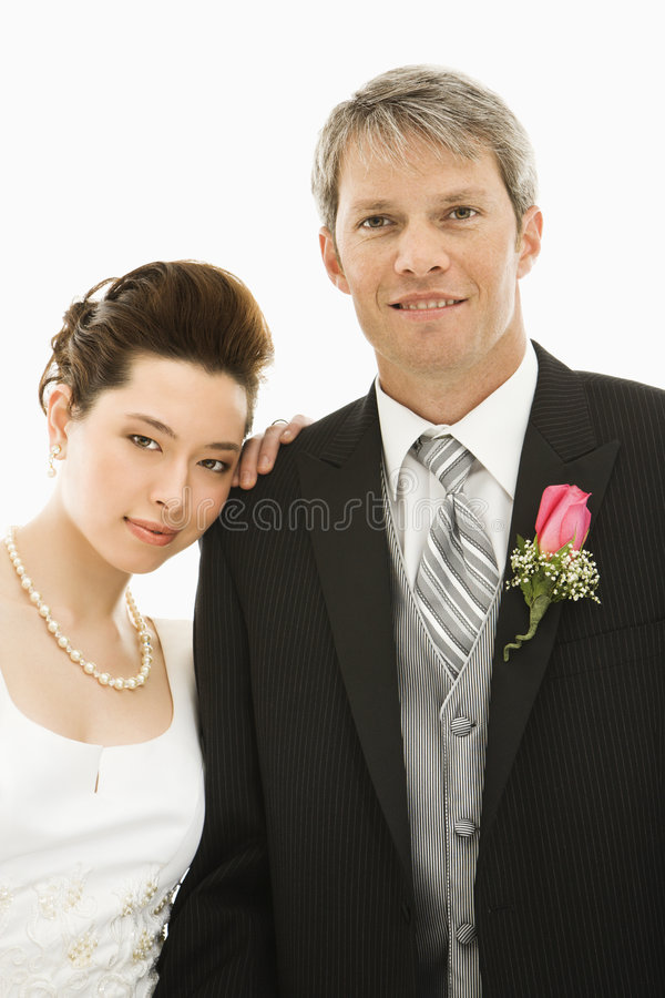 Bride and groom. stock image