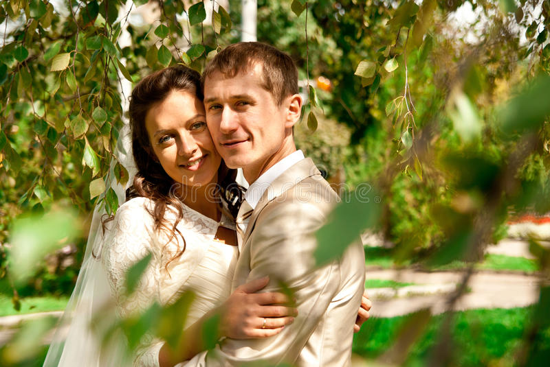 Bride And Groom Stock Images