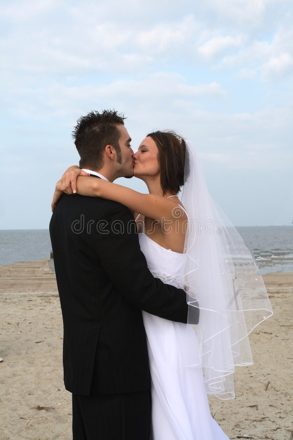 Download Bride and Groom stock image. Image of holding, rocks, woman - 3232779
