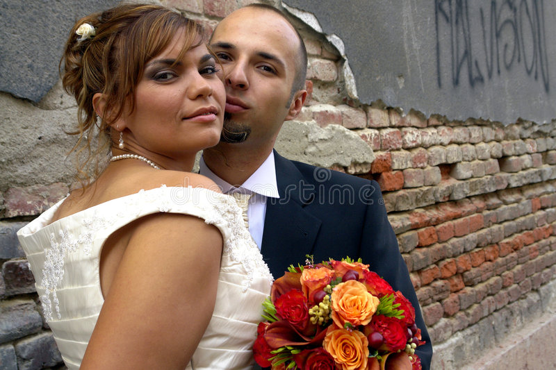 Download Bride and Groom stock photo. Image of contemporary, black - 3262118