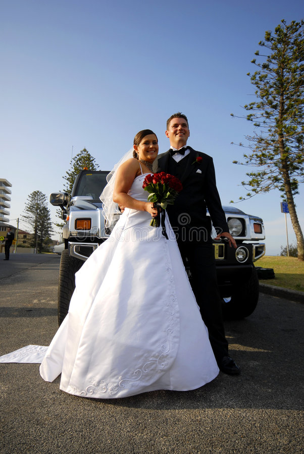 bride groom 免版税库存图片