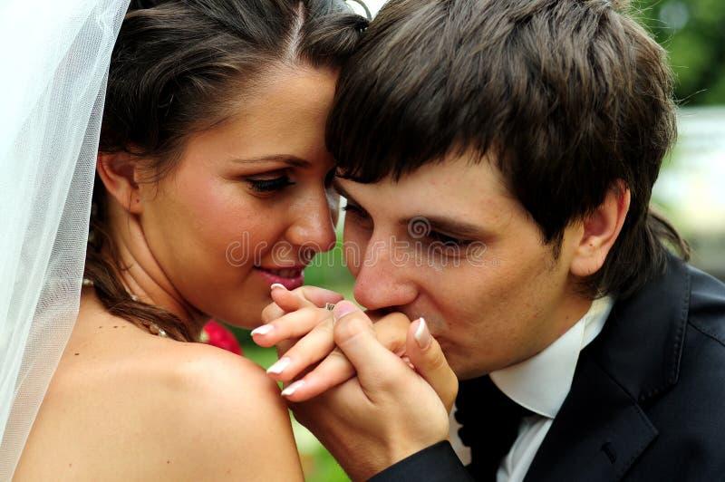 Download Bride and Groom stock image. Image of adult, black, dress - 6060131