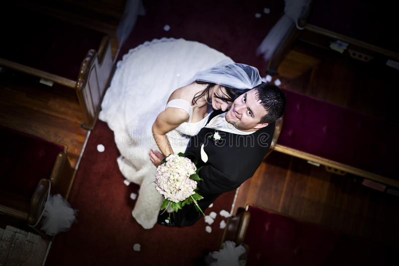 Download Bride And Groom In A Church Royalty Free Stock Images - Image: 15765429