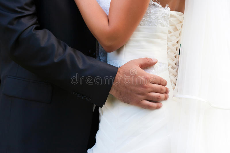 Download Bride And Groom Embrace Each Other Stock Photo - Image: 29378288