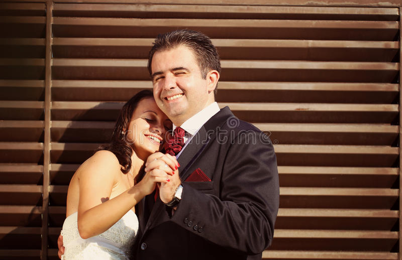 Download Bride And Groom Holding Hands Stock Image - Image of hugging, classic: 40071581