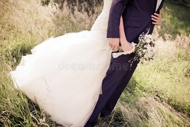 Download Bride and groom stock photo. Image of natural, wedding - 65817850