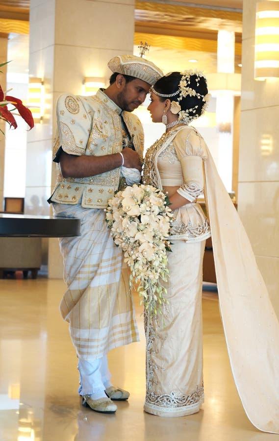 Bride And Groom In Sri Lanka Editorial Stock Photo - Image of ...