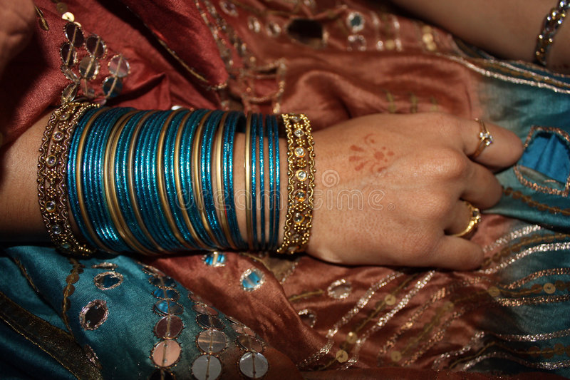 Bride Hand royalty free stock image