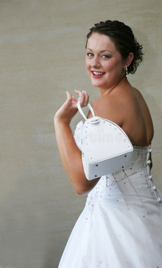 Bride Handbag royalty free stock photo