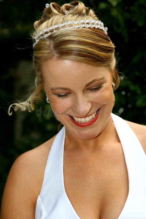 Bride Happy stock images