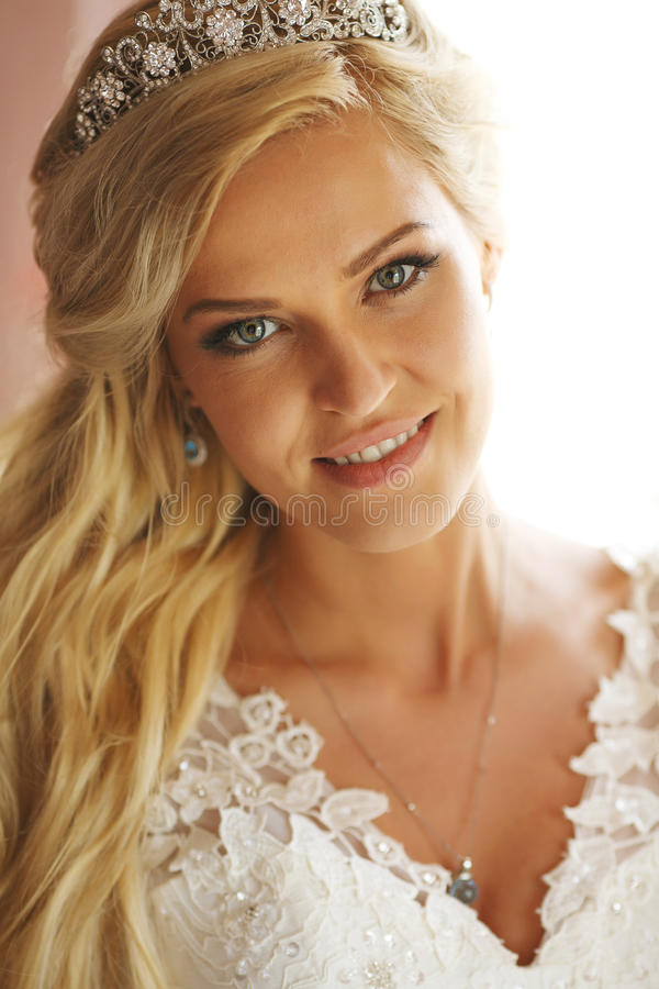 Bride incredible beauty royalty free stock image