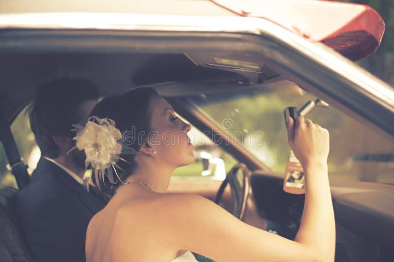 Bride Looking In Car Free Public Domain Cc0 Image