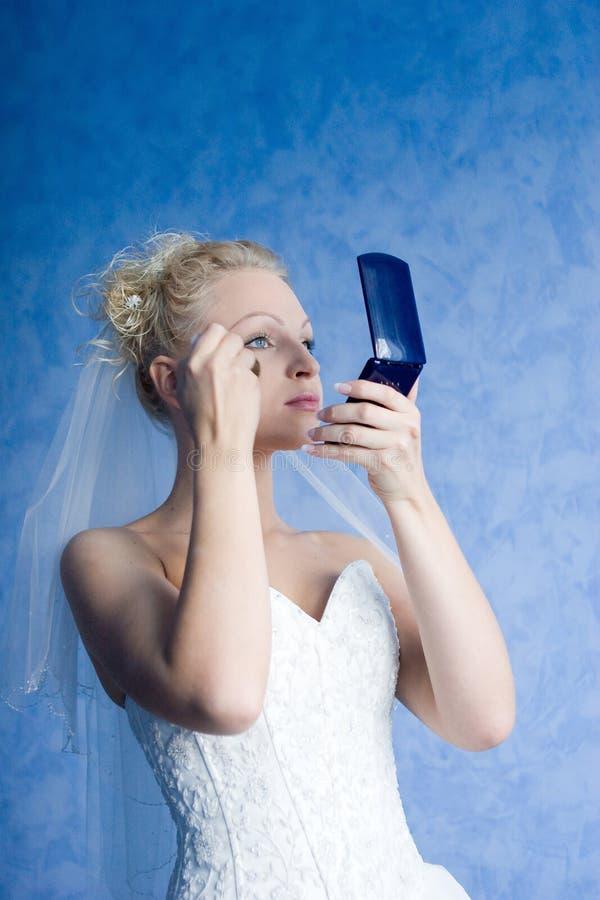 Free Bride Morning Make-up Stock Image - 3969911