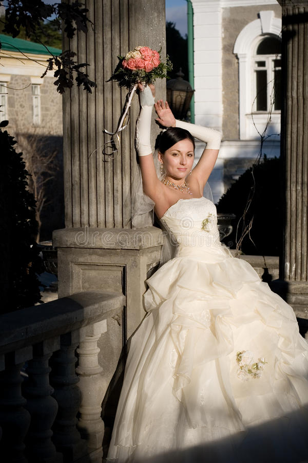 Download Bride In The Park Stock Images - Image: 23025364
