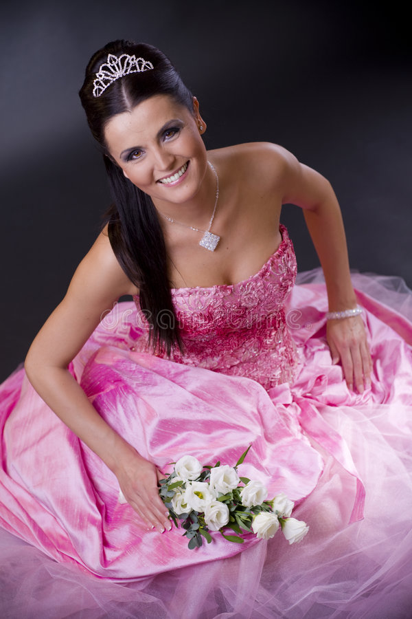 bride pink στοκ εικόνες