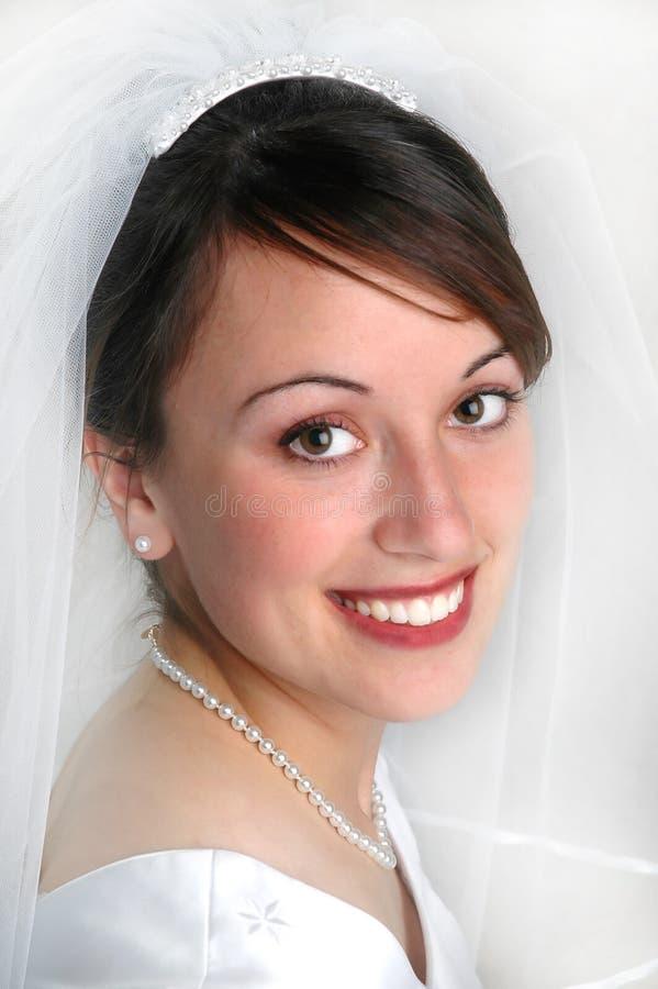 bride portrait στοκ εικόνες με δικαίωμα ελεύθερης χρήσης