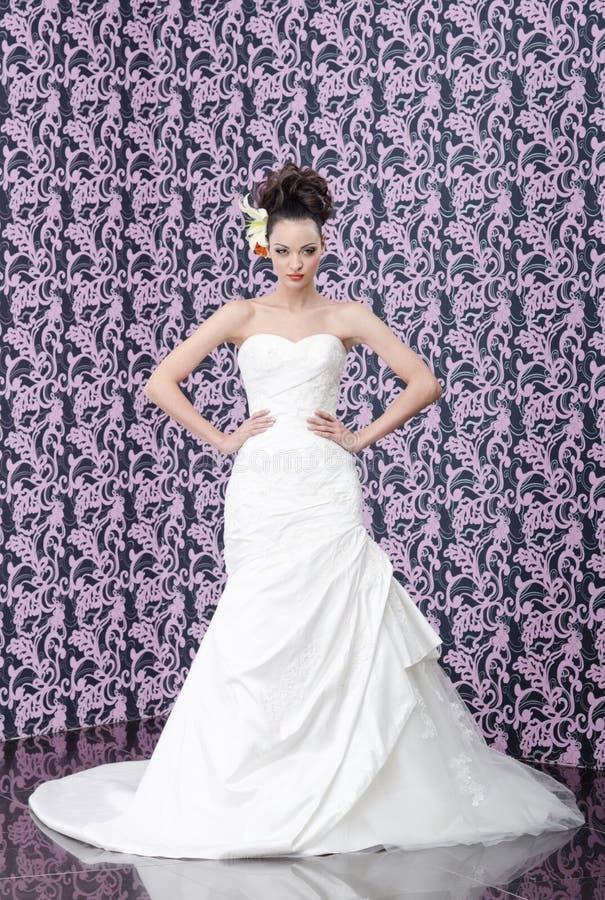 Download Bride portrait stock image. Image of caucasian, flower - 23871463