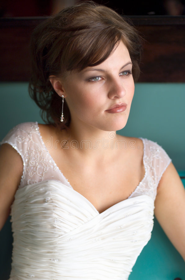 Bride Portrait stock photos