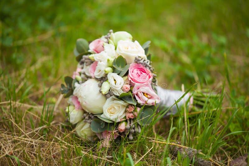 Bride' ramalhete de s fotografia de stock royalty free