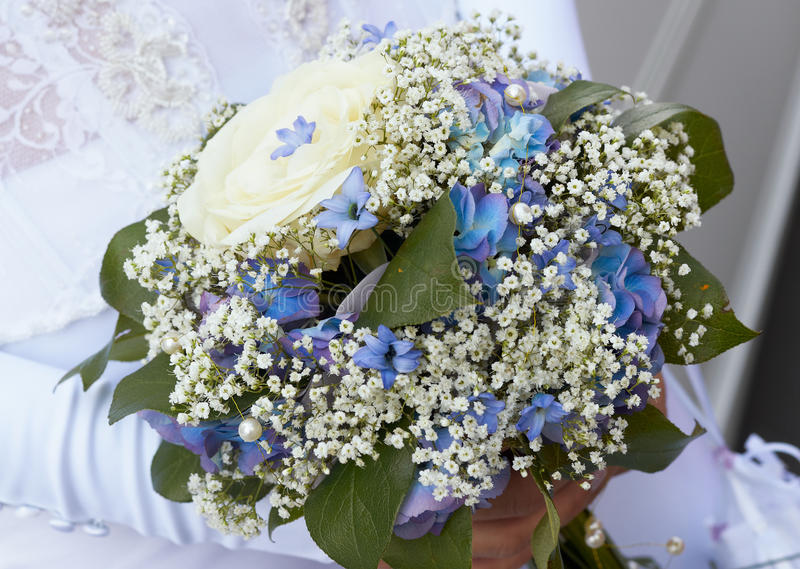 Bride's bouquet. royalty free stock photo