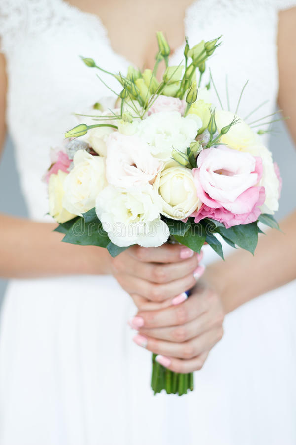 The bride`s bouquet royalty free stock images
