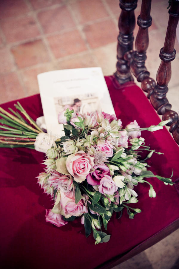 Download A bride's bouquet stock image. Image of beautiful, wedding - 65818221